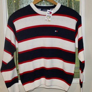 NWT Tommy Hilfiger Crew Neck Flag 2 Sweater Large